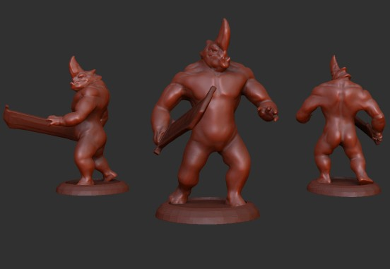 One Horn_Concept 01_posed