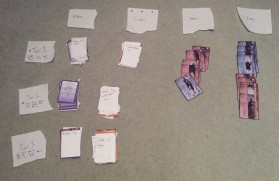 Sorting Cards