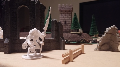 Drazz skulking around some ruins.