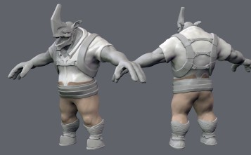 One Horn Concept 51_Equip WIP_02