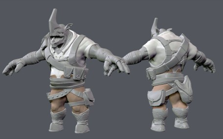 One Horn Concept 51_Equip WIP_05