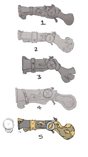 Perry Pistol Concept 02