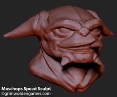 Moschops_SpeedSculptPortrait_