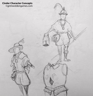 Cinder Characer Concepts 01