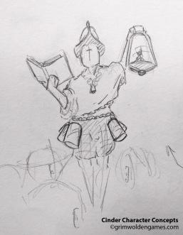 Cinder Characer Concepts 02