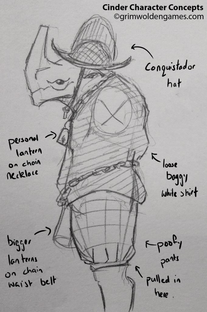 Cinder Characer Concepts 03