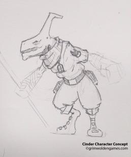 Cinder Characer Concepts 05