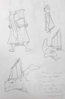Isogo Character Concept 02
