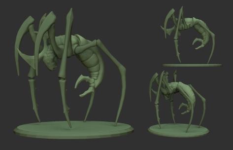 Swamp_Goblin_Sentinel_03 - Render