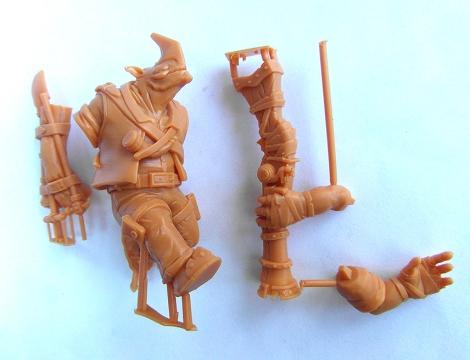 One Horn Master Print