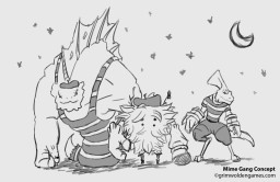 mime-gang-concept